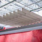 Акустические потолочные перегородки Buffle line